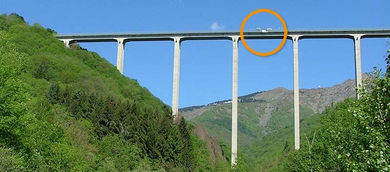 Ponte Colossus di Veglio (Bi)